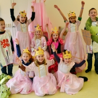 Ridder en prinsessenfeest