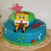 Taart met Spongebob Squarepants