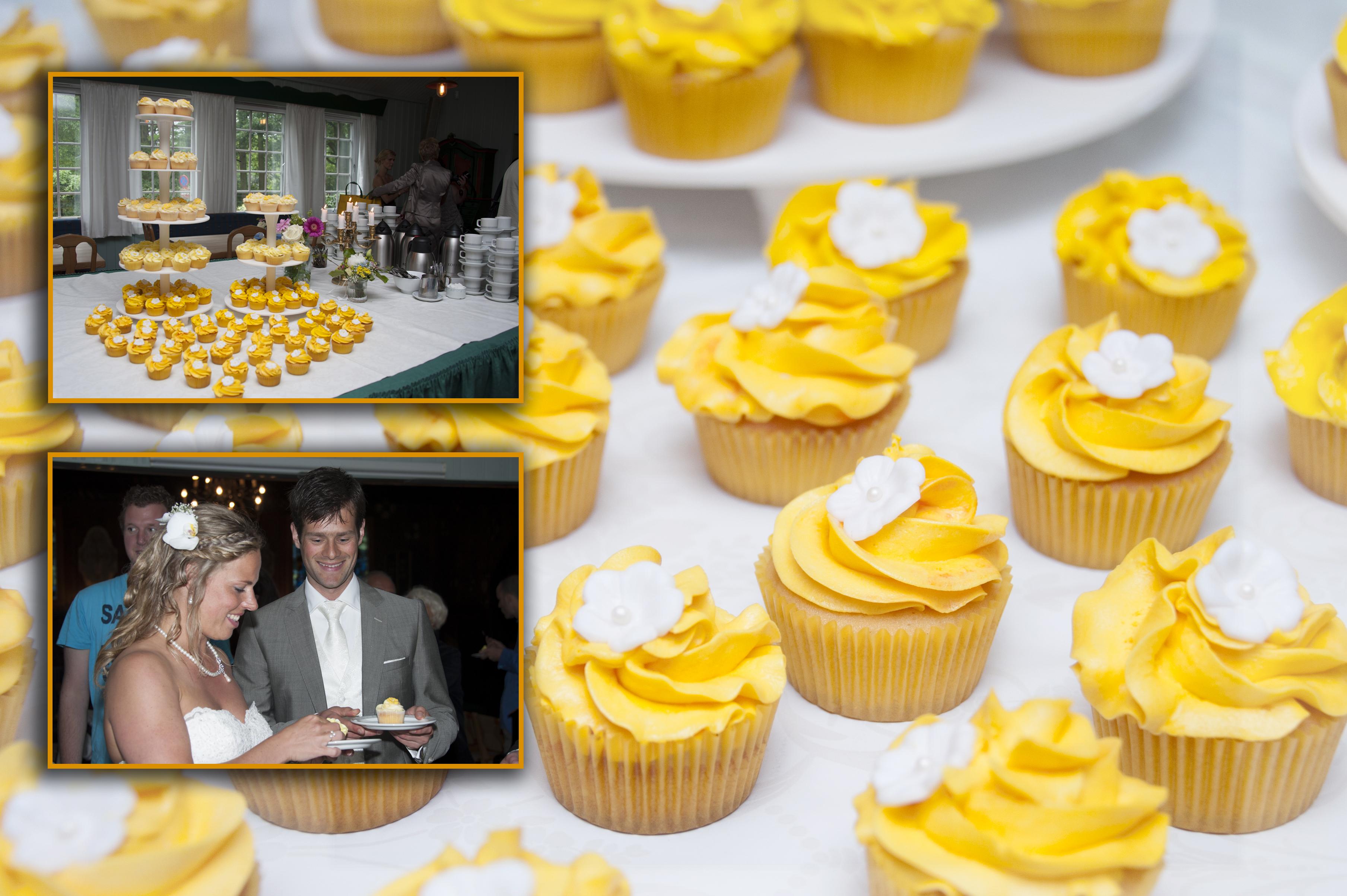 Cupcakes voor bruiloft